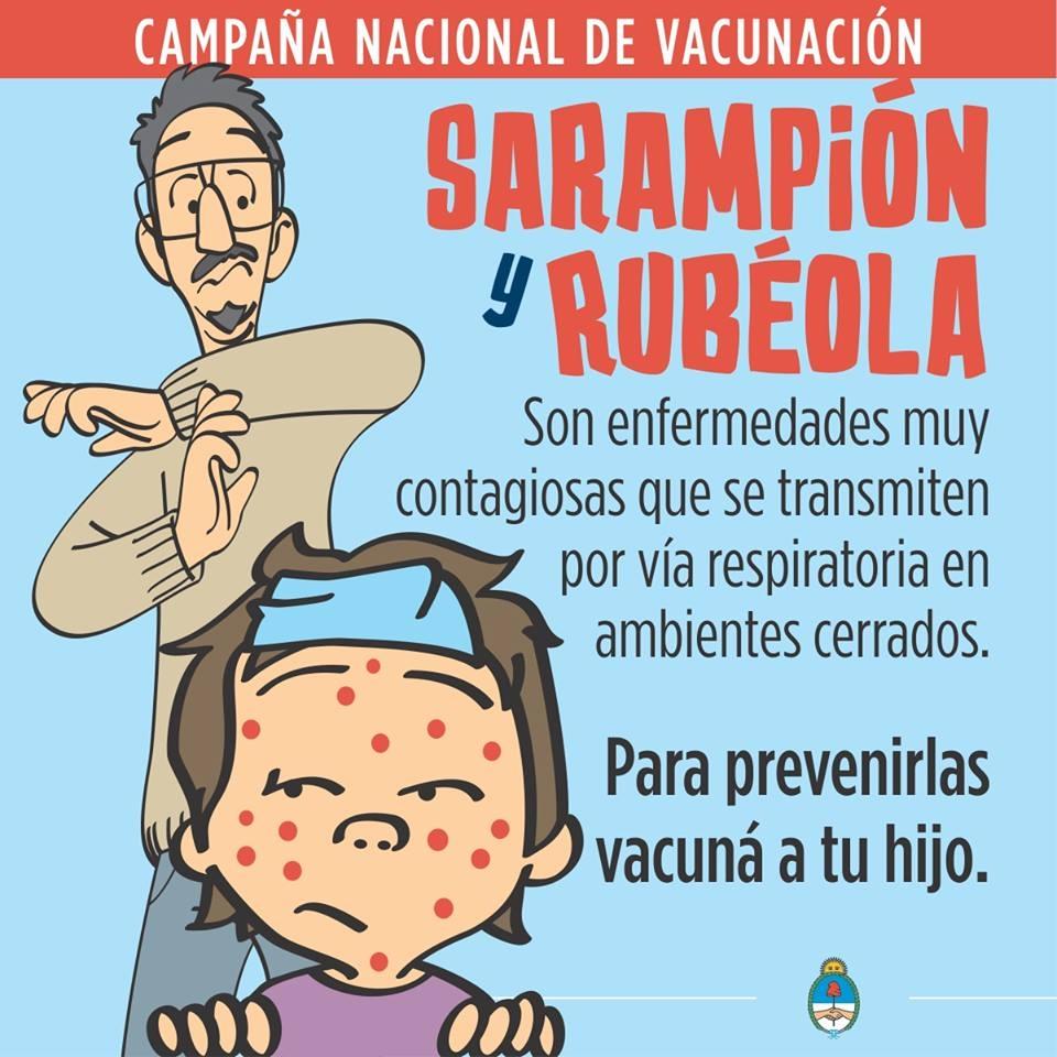 CAMPAÑA NACIONAL DE VACUNACIÓN: SARAMPIÓN Y RUBÉOLA
